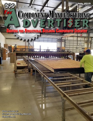 July 2019 Advertiser by Component Manufacturing Advertiser