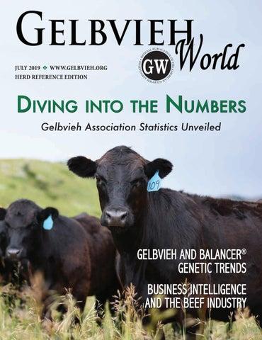July 2019 Gelbvieh World by American Gelbvieh Association