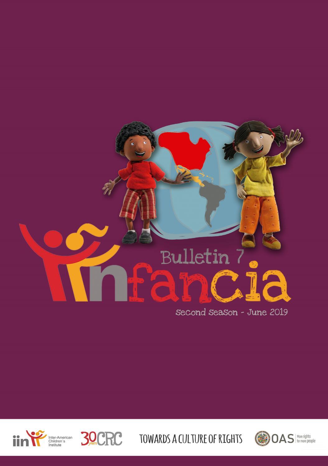 Bulletin IINfancia N° 7   June 2019 by IIN OEA   issuu