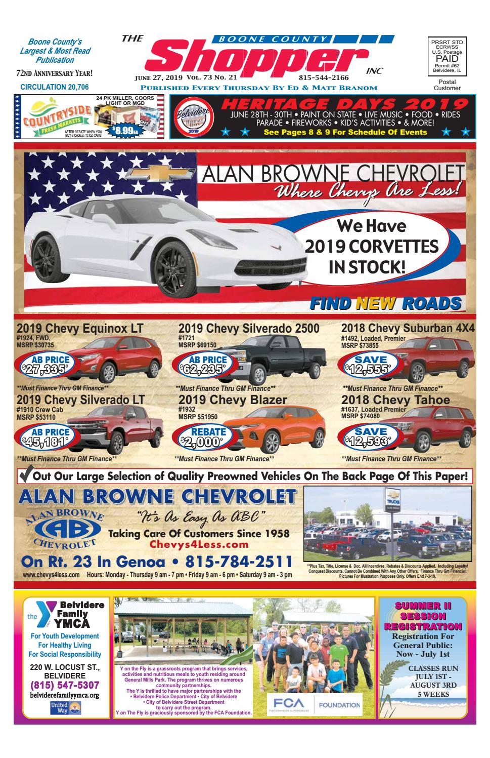 Boone County Shopper June 27, 2019 by Boone County Shopper