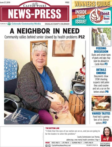 Castle Pines News Press 0627 by Colorado Community Media - issuu