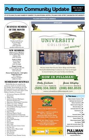 Pullman Community Update 07-19 by Hannah Crawford - issuu