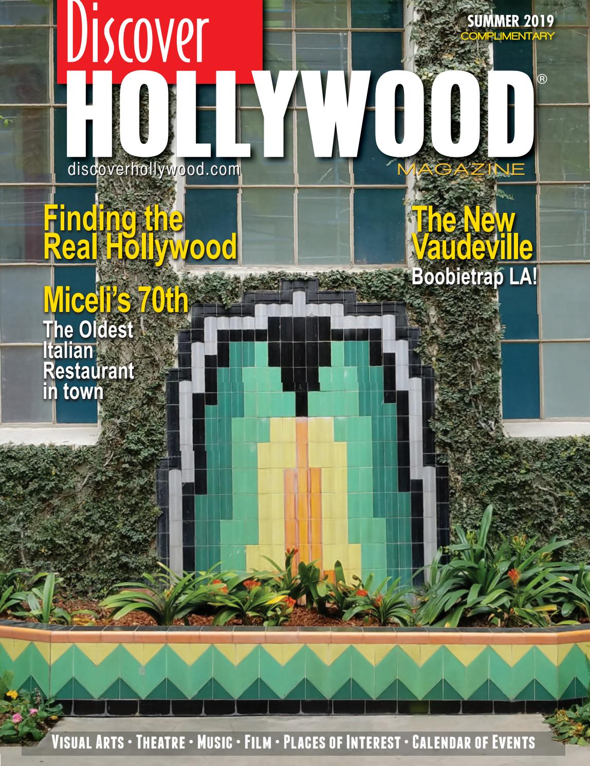 Discover Hollywood Summer 2019 by Discover Hollywood
