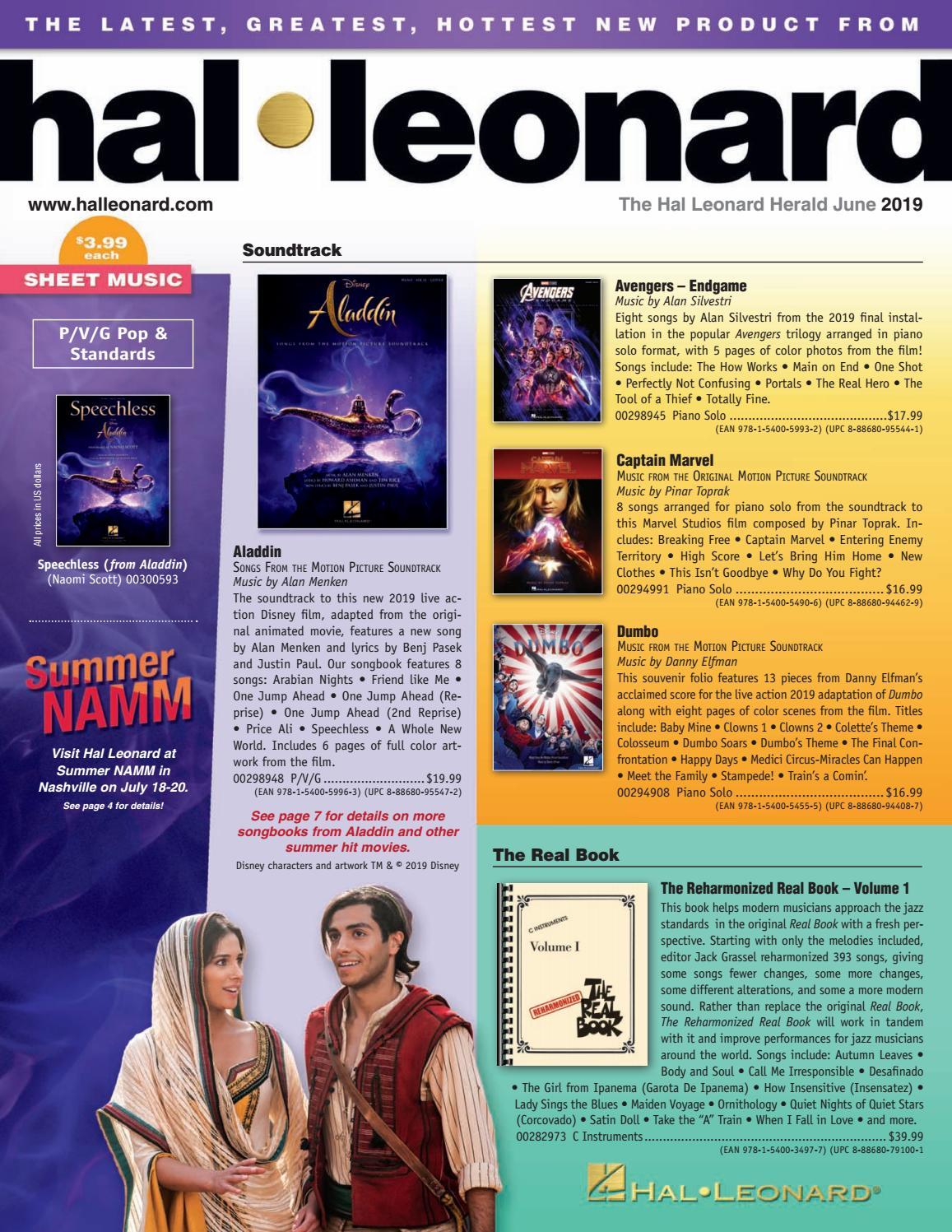 July 2019 HL Herald by Hal Leonard - issuu