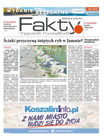 Fakty Tygodnik Koszaliński Numer 210 By Fakty Issuu