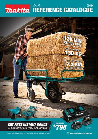 Makita Product Reference Catalogue 2019 Vol02 By Makita New
