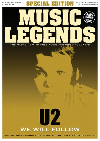 Music Legends – U2 Special Edition by Music Legends Magazine