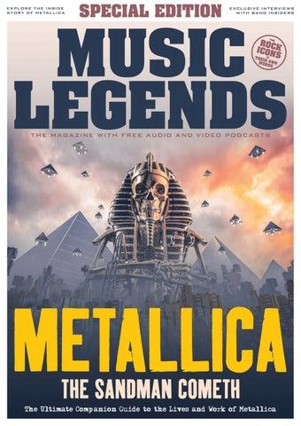 Music Legends – Metallica Special Edition by codarecordsltd - issuu