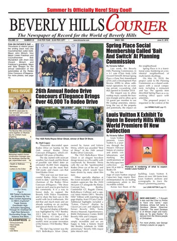 BH Courier E-edition 062119 by The Beverly Hills Courier - issuu