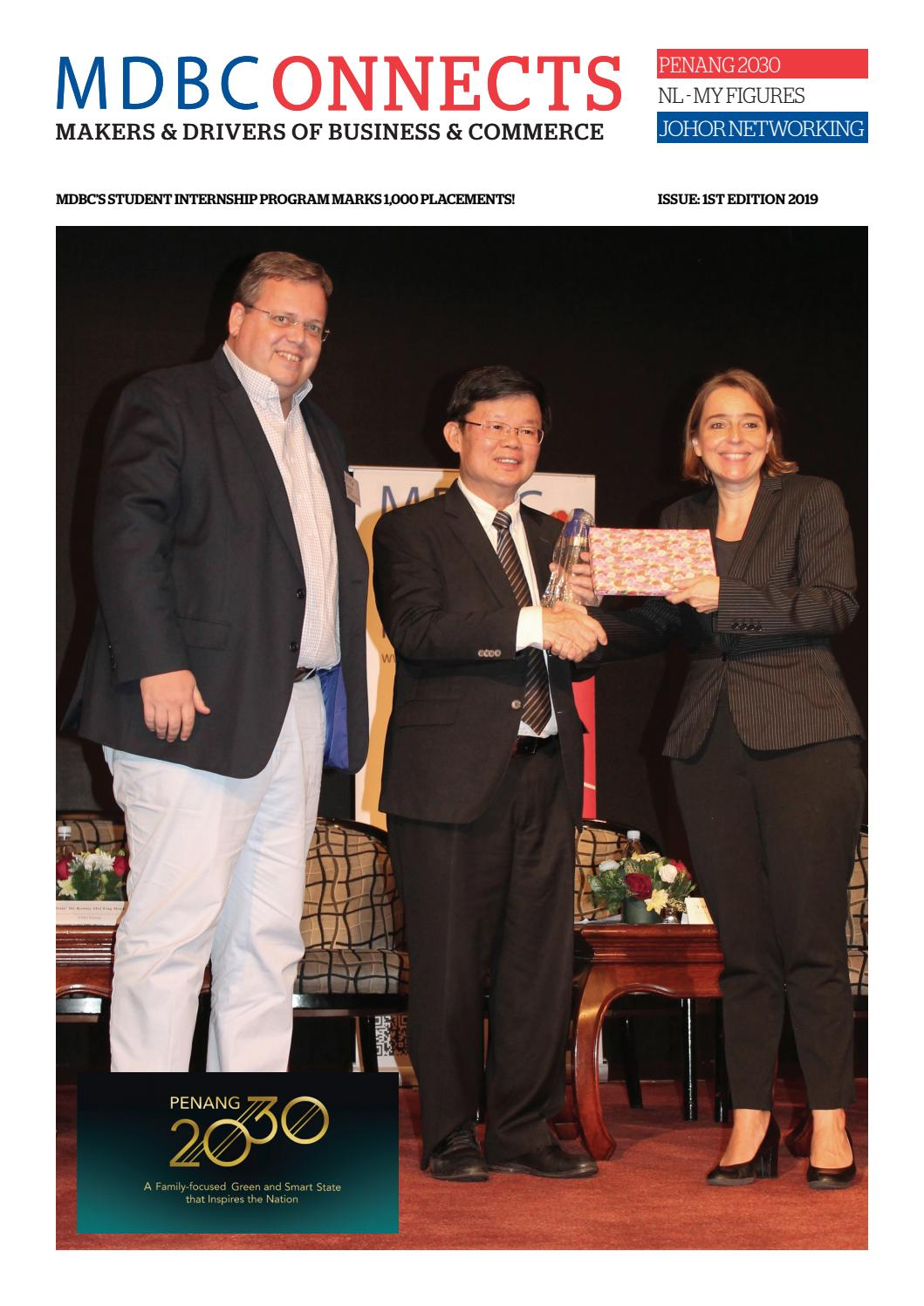 MDBCONNECTS 2019 - 1 by Malaysian Dutch Business Council - issuu