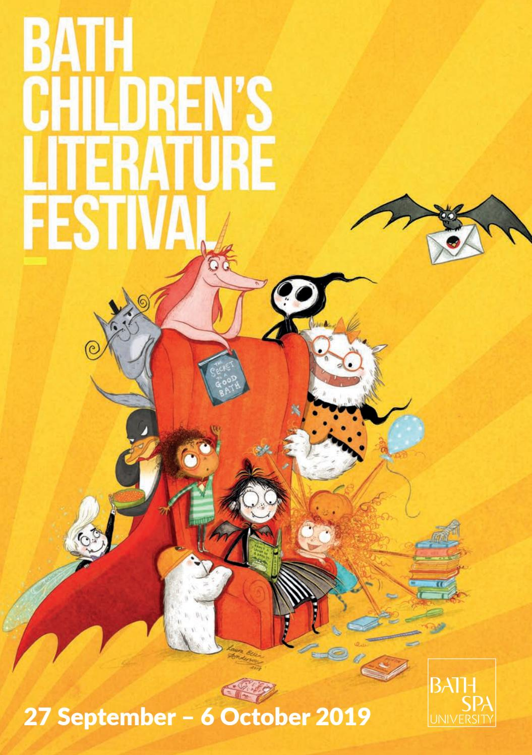 Bath Children's Literature Festival 2019 Brochure by Bath
