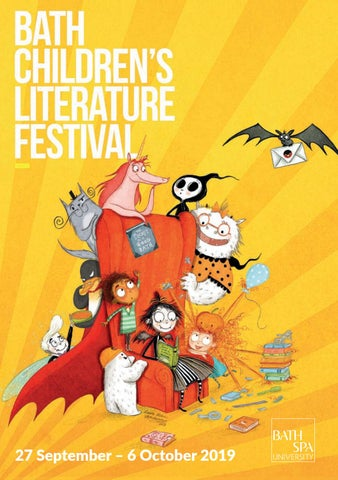 Bath Children's Literature Festival 2019 Brochure by Bath Festivals