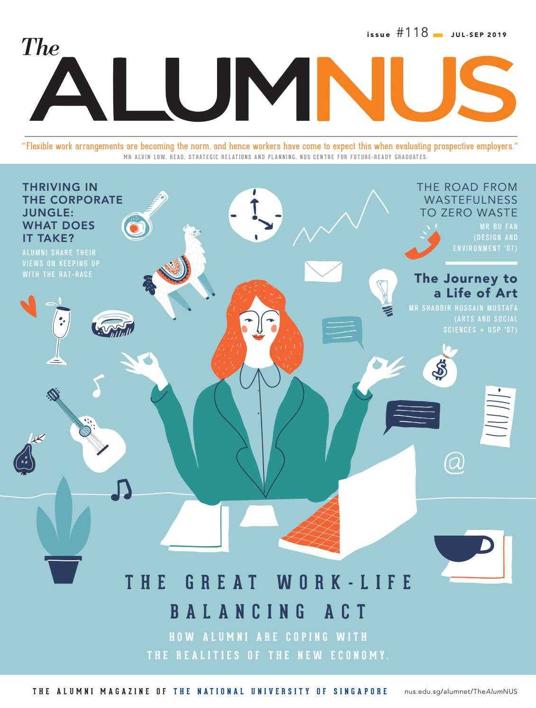 The AlumNUS Jul - Sep 2019 by NUS Alumni Office - issuu