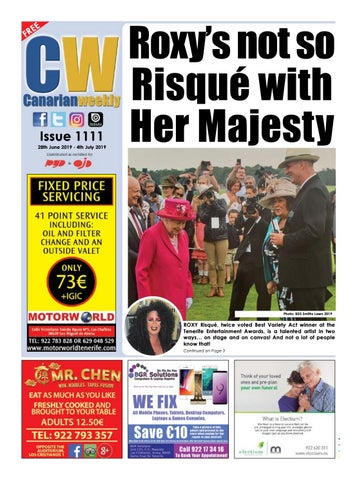 Cw Issue 1111 By Canarian Weekly Issuu
