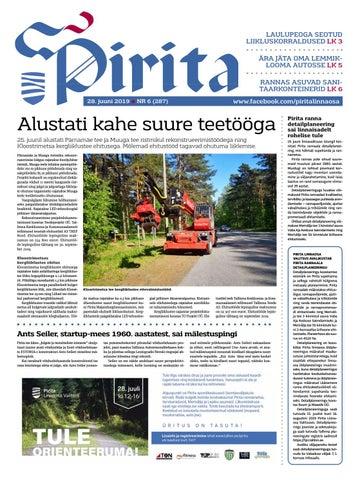 66ef4623be7 Pirita ajaleht 28. juuni 2019 by Piritalinnaosavalitsus - issuu