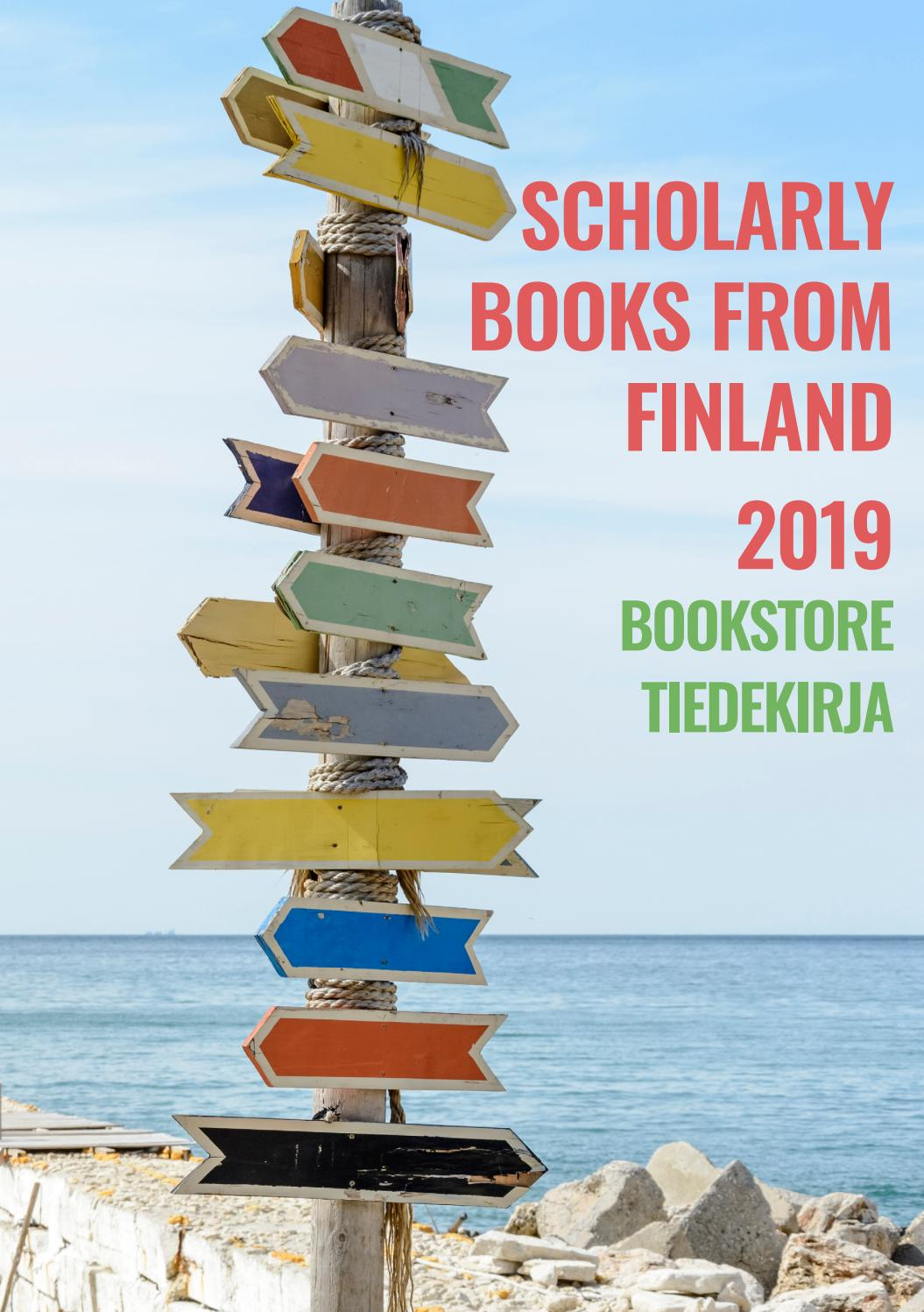 Scholarly Books From Finland 2019 By Tiedekirja Issuu