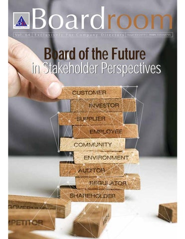 Boardroom Vol  3/2019: Board of the Future in Stakeholder