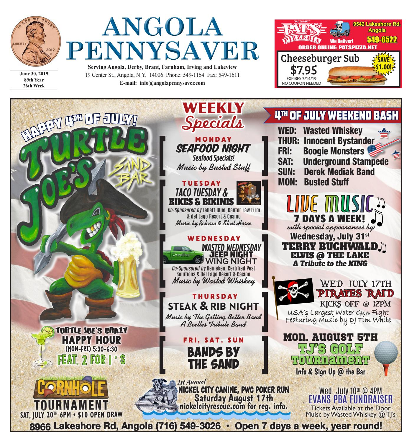6/30/19 Angola Pennysaver by Angola Pennysaver - issuu