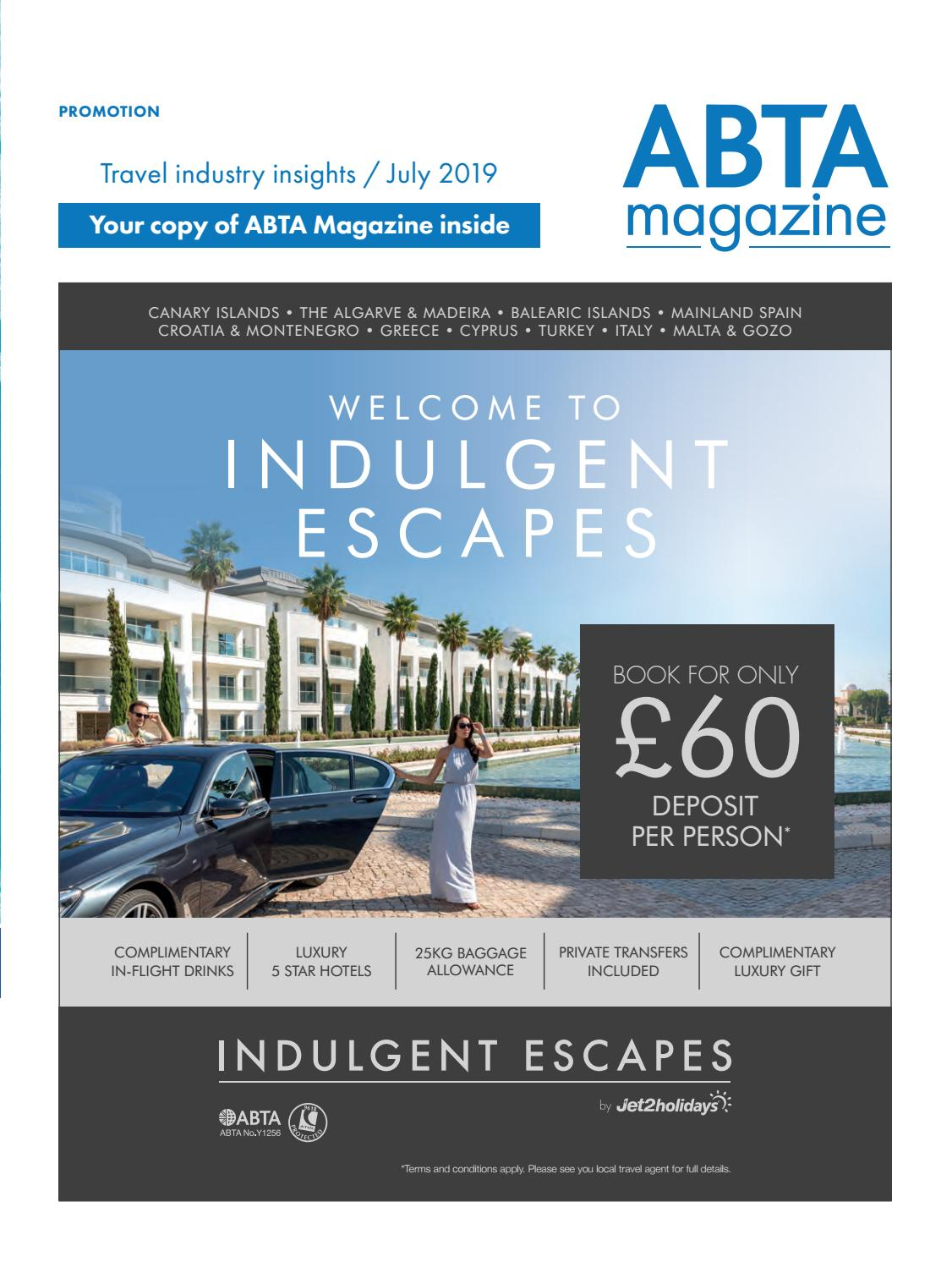 ABTA Magazine – July 2019 by ABTA Magazine - issuu