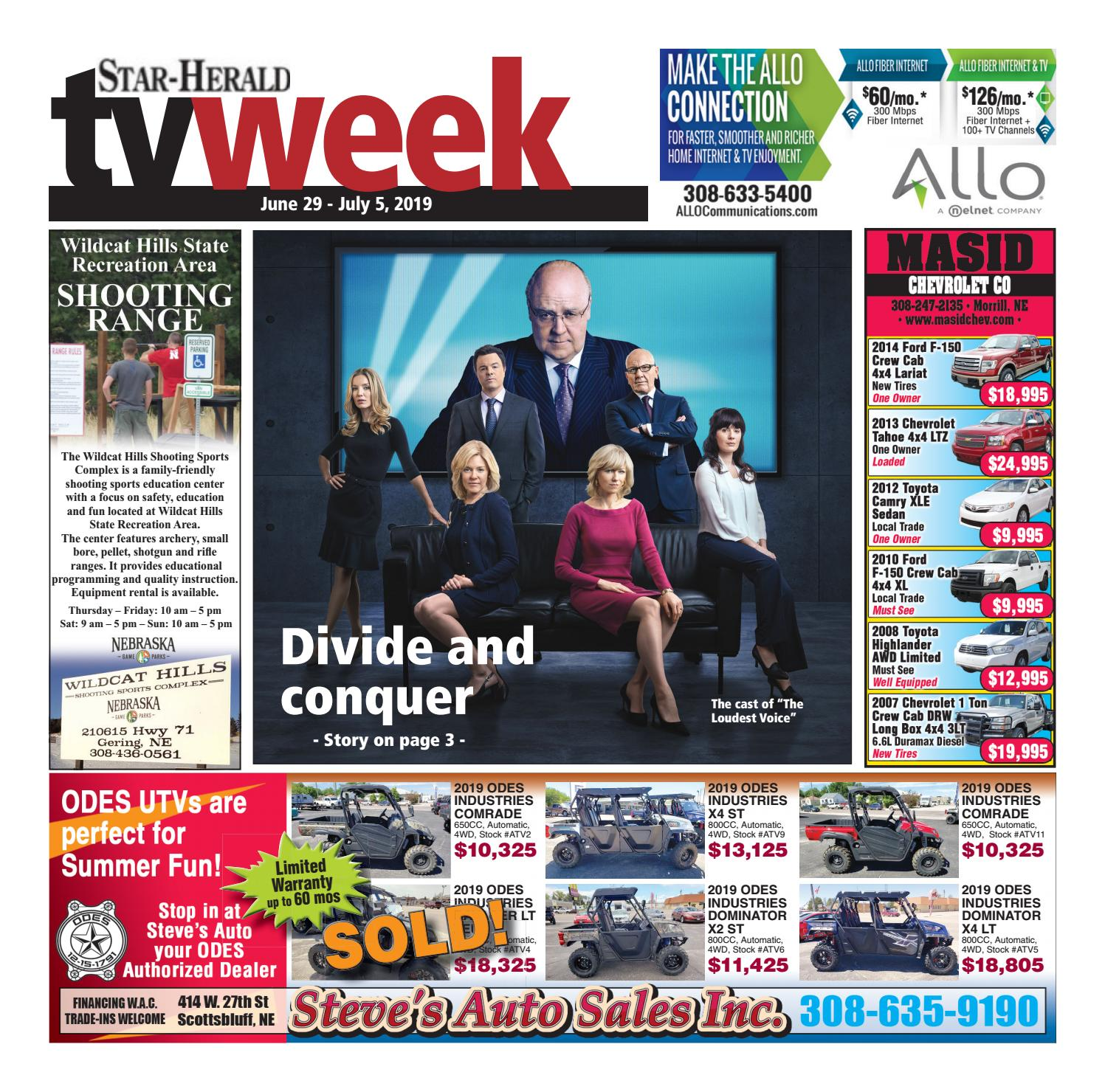 TV Week June 29, 2019 by Star-Herald - issuu