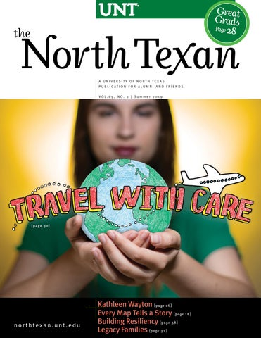 d7db57122 The North Texan - UNT Alumni Magazine - Summer 2019 by University of ...