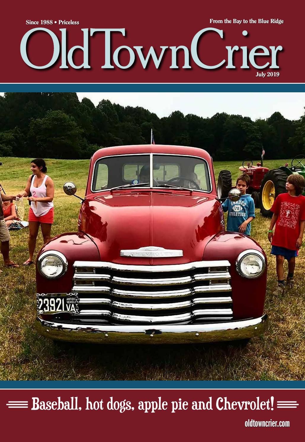 July By Crier 2019 Issuu Old Town Issue Full c5RjS34ALq