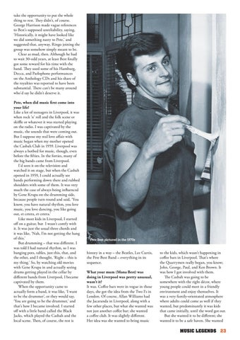 Page 23 of I was fired from the Beatles!' The Pete Best Story in his Own Words..