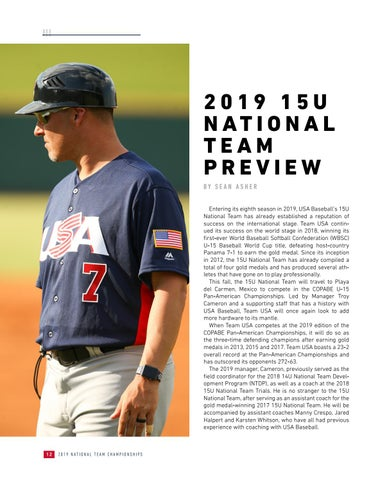 Page 14 of 2019 15U National Team Preview