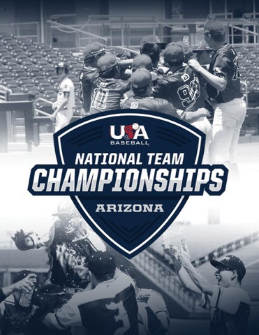 2019 USA Baseball National Team Championships (Arizona) Program by