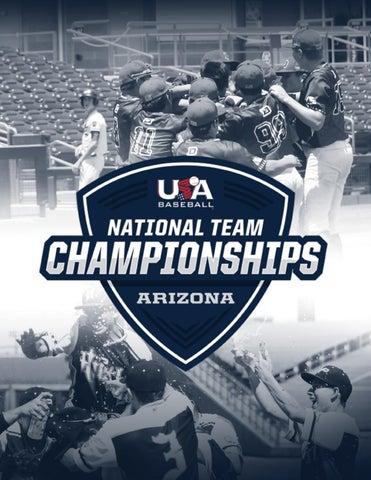 2019 Usa Baseball National Team Championships Arizona Program By