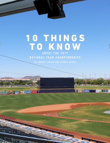 Page 4 of 10 Things to Know About the National Team Championships