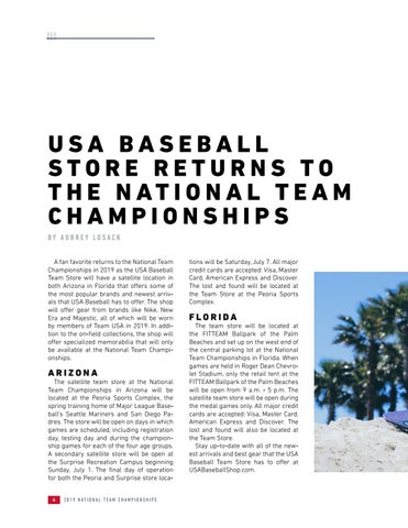 Page 6 of USA Baseball Store Returns to the National Team Championships
