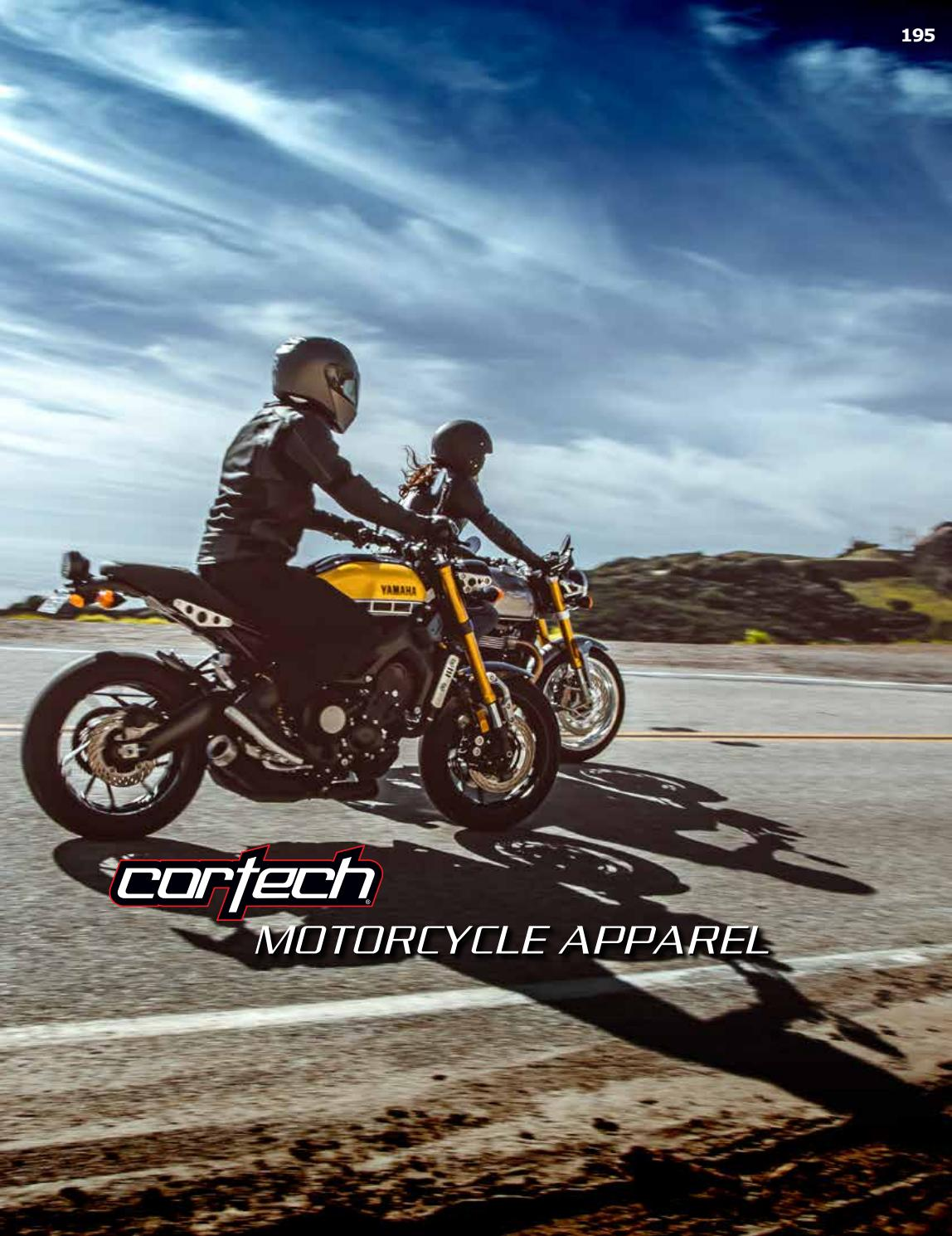 Cortech Vice WP Mens Riding On-Road Motorcycle Shoes Black//Size 11