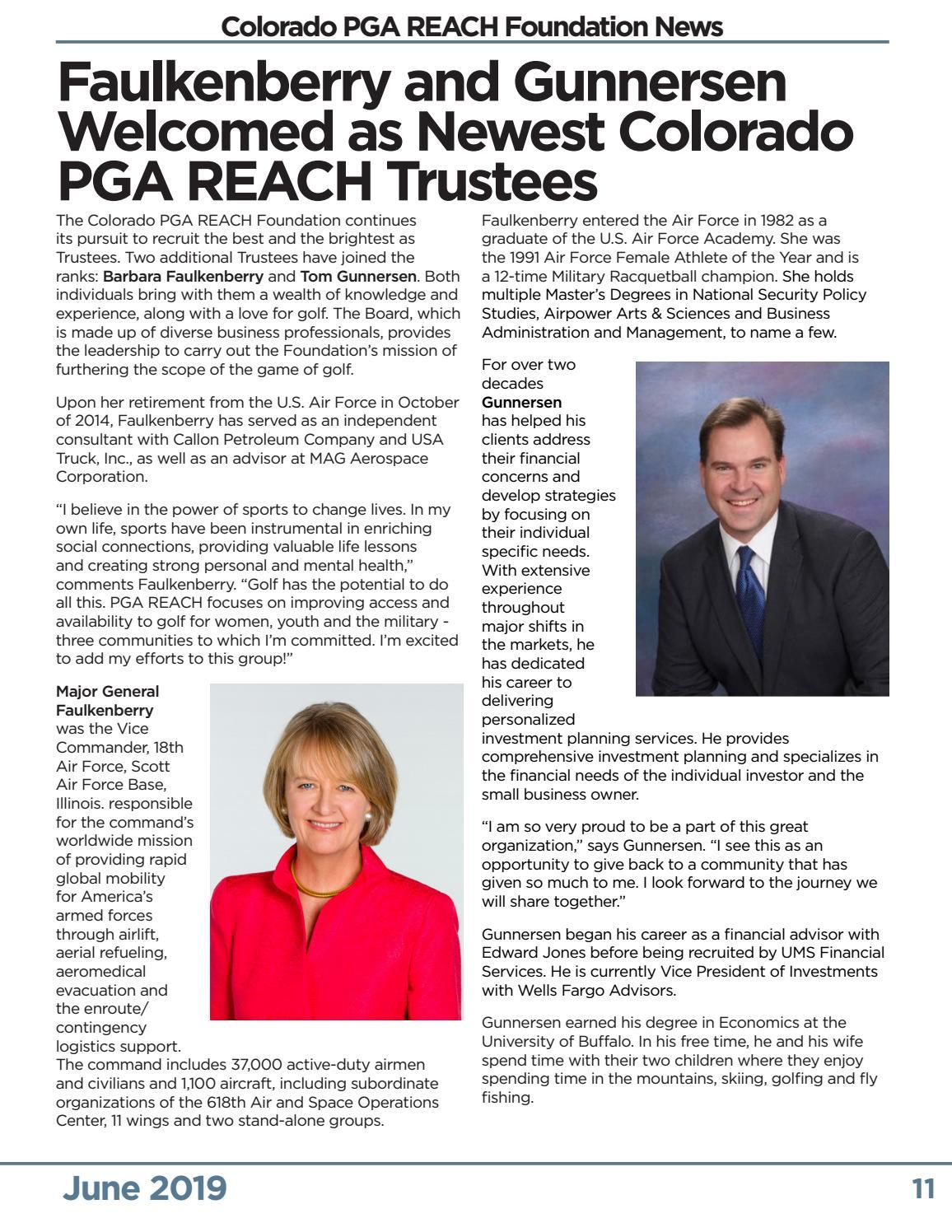 The SUMMIT - Colorado PGA Magazine - June 2019 by Colorado