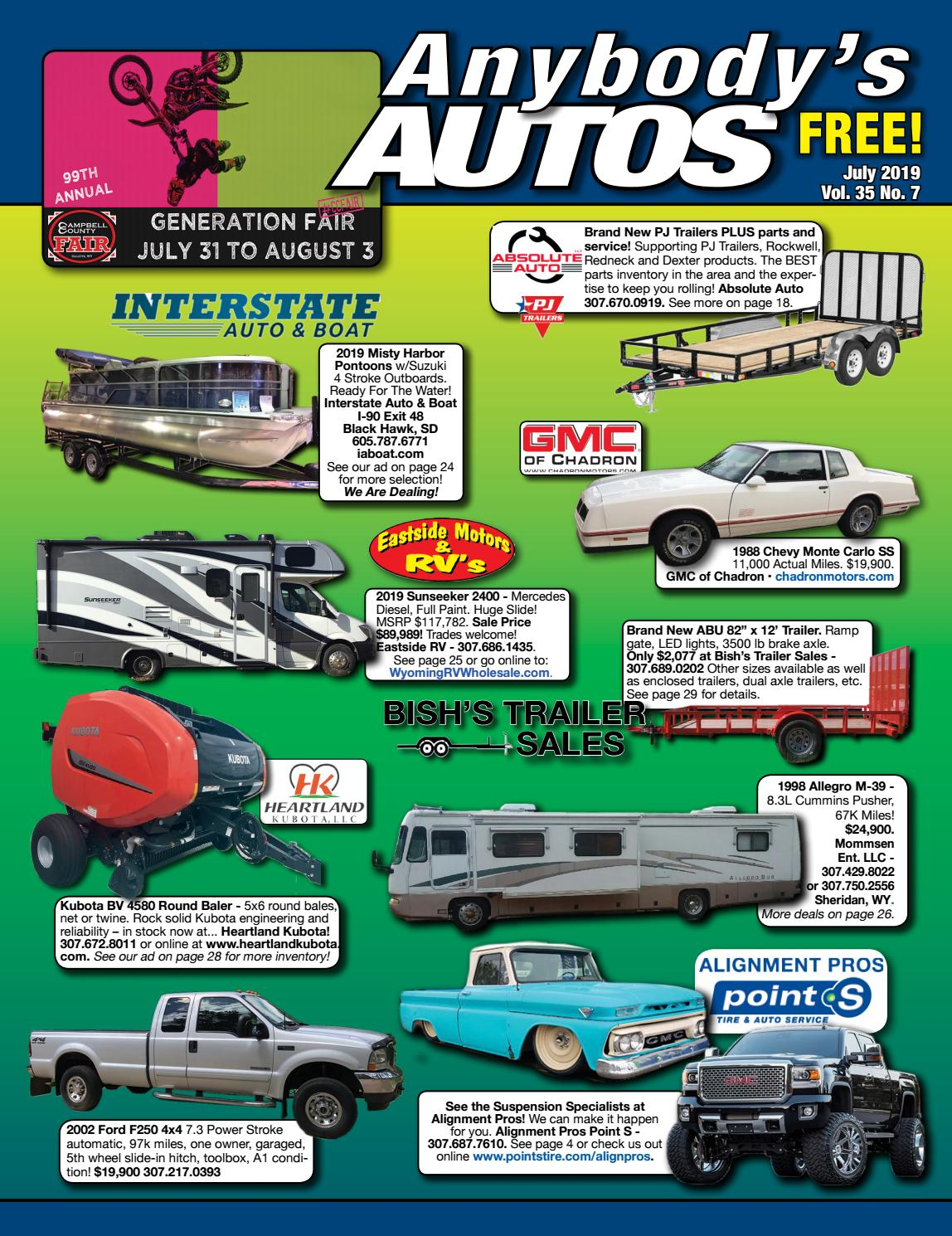 July 2019 by Anybodys Autos - issuu