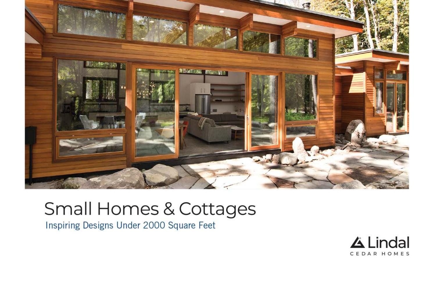 Small Homes Cottages Volume Two By Lindal Cedar Homes Issuu
