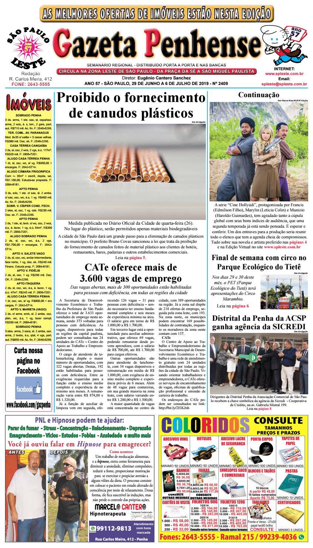 4ad4a86f91 Gazeta Penhense edição 2409 29/06 a 06/07/19 by Marcelo Cantero - issuu