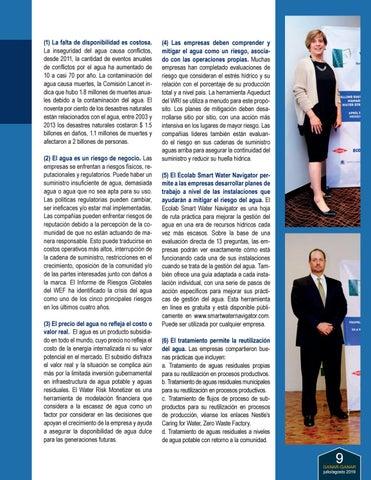Page 9 of La Gestión Integral del Agua en un Futuro con Estrés Hídrico