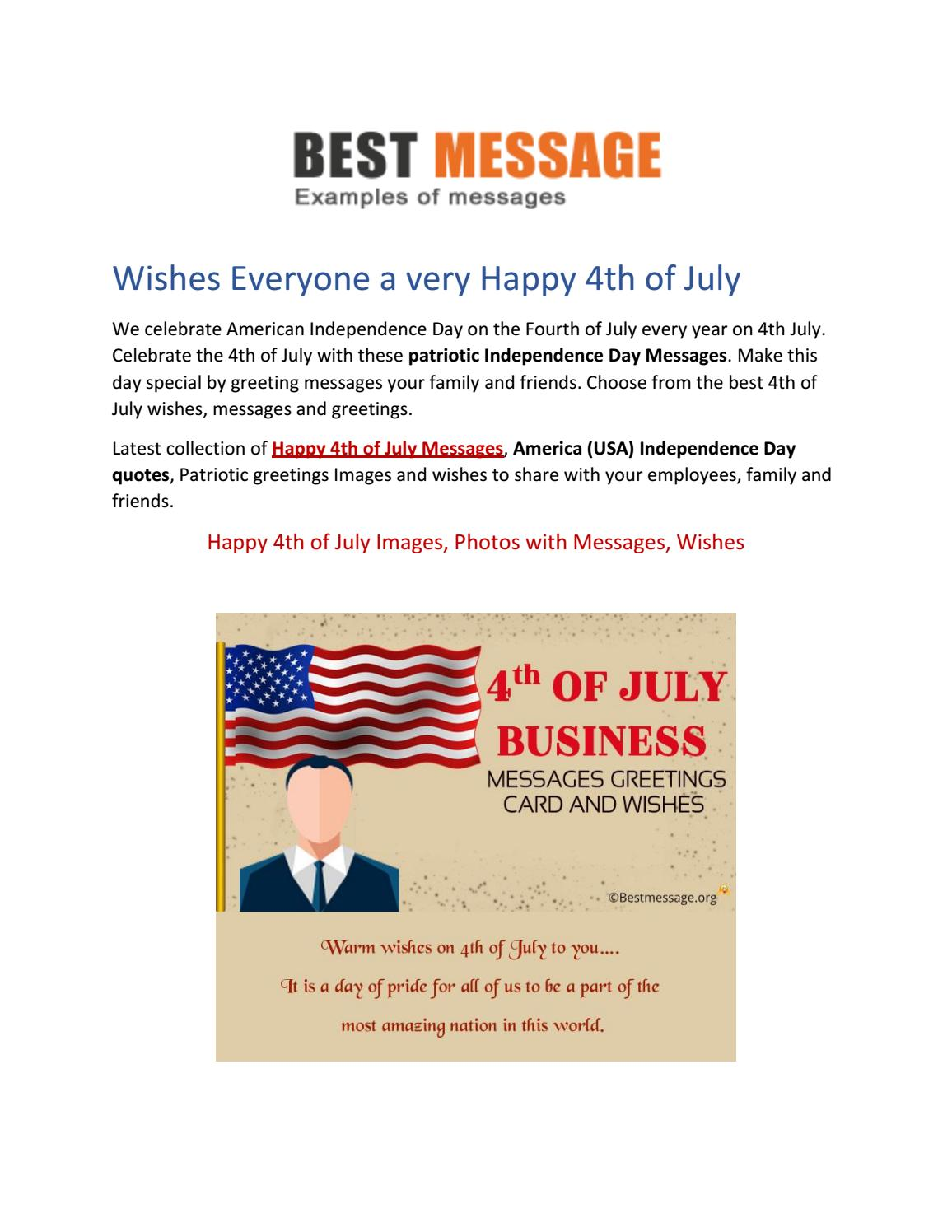 happy th of messages usa independence day messages wishes