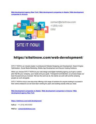Web development agency New York | Web development companies