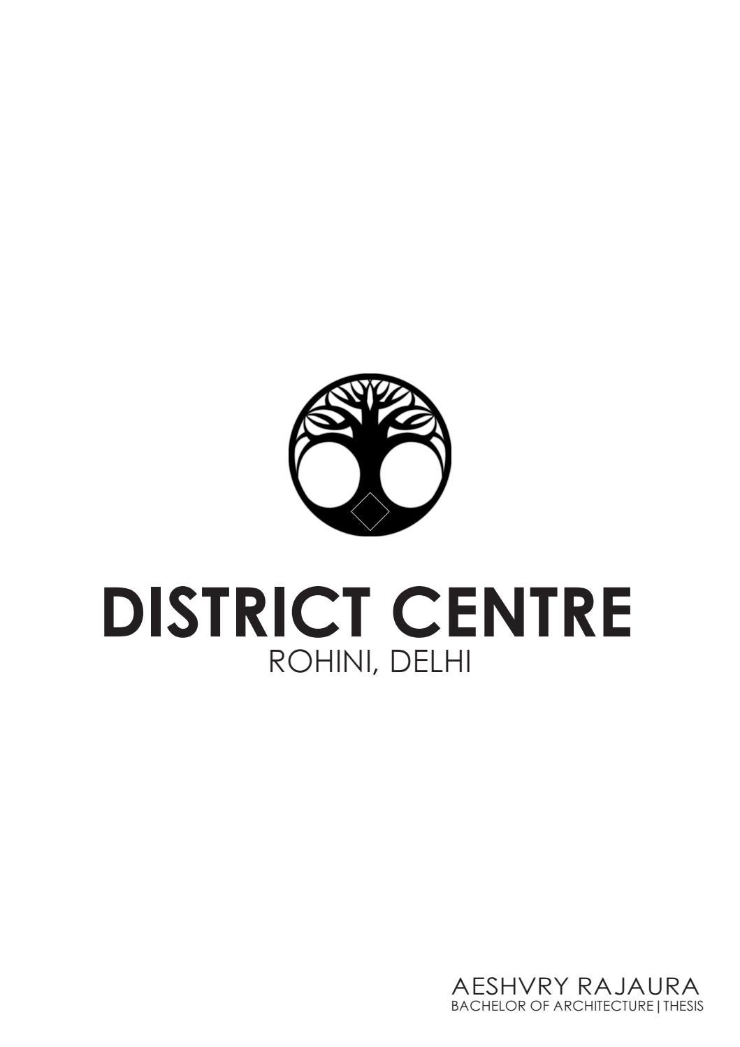 District Centre | Architecture Thesis By Aeshvry - Issuu