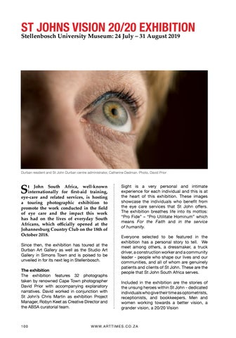 Page 100 of ST. JOHNS VISION - 20/20 Page 100