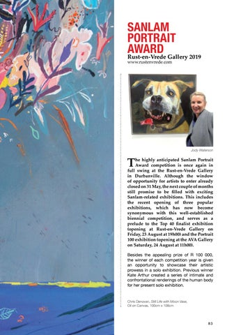 Page 83 of SANLAM PORTRAIT AWARD IN FULL SWING Page 82