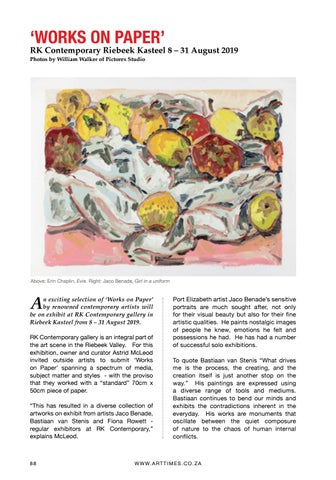 Page 88 of WORKS ON PAPER - SPANNING A SPECTRUM OF MEDIA, SUBJECT MATTER AND STYLES Page 88