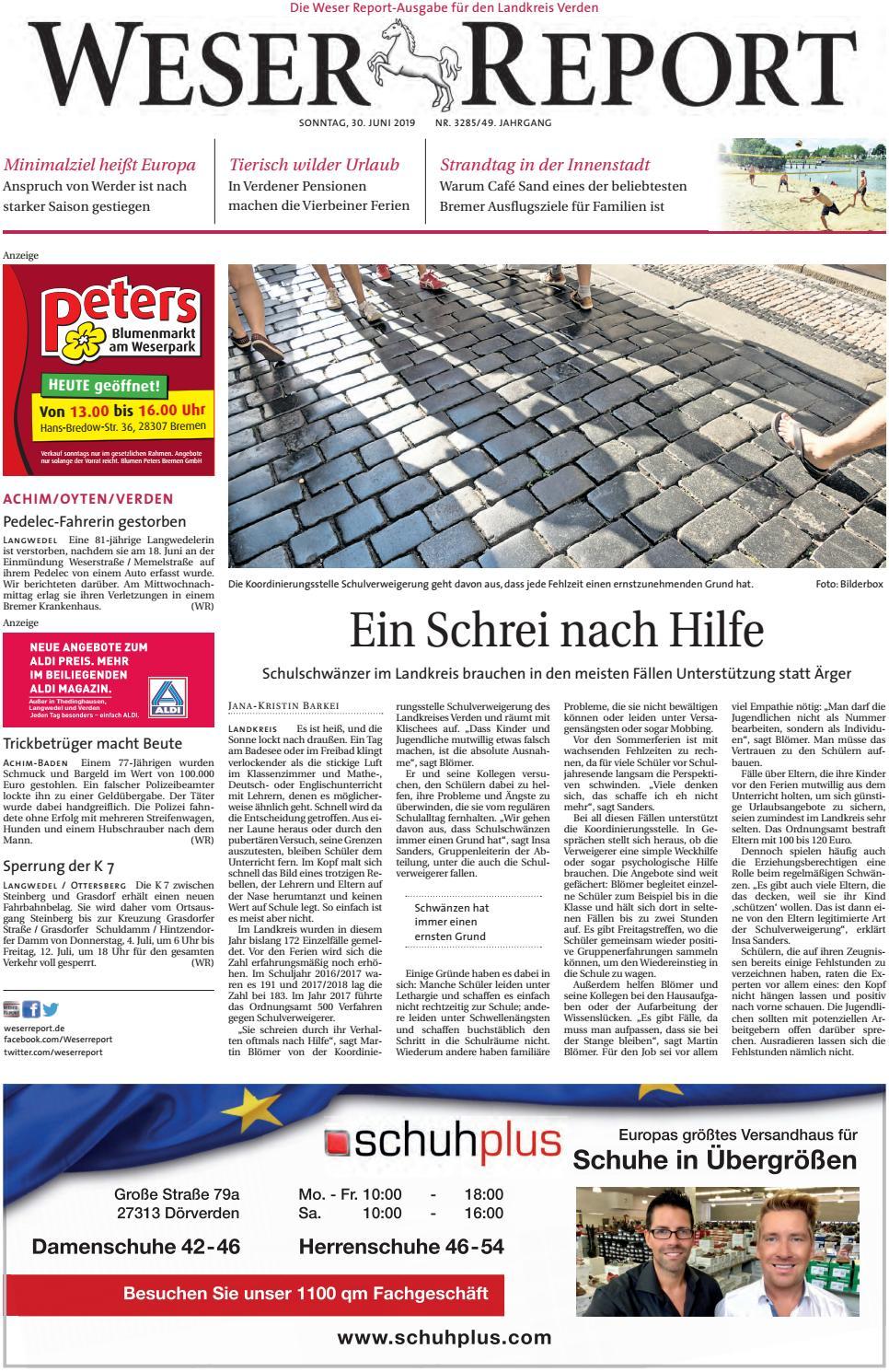 Weser Report Achim, Oyten, Verden vom 30.06.2019 by KPS