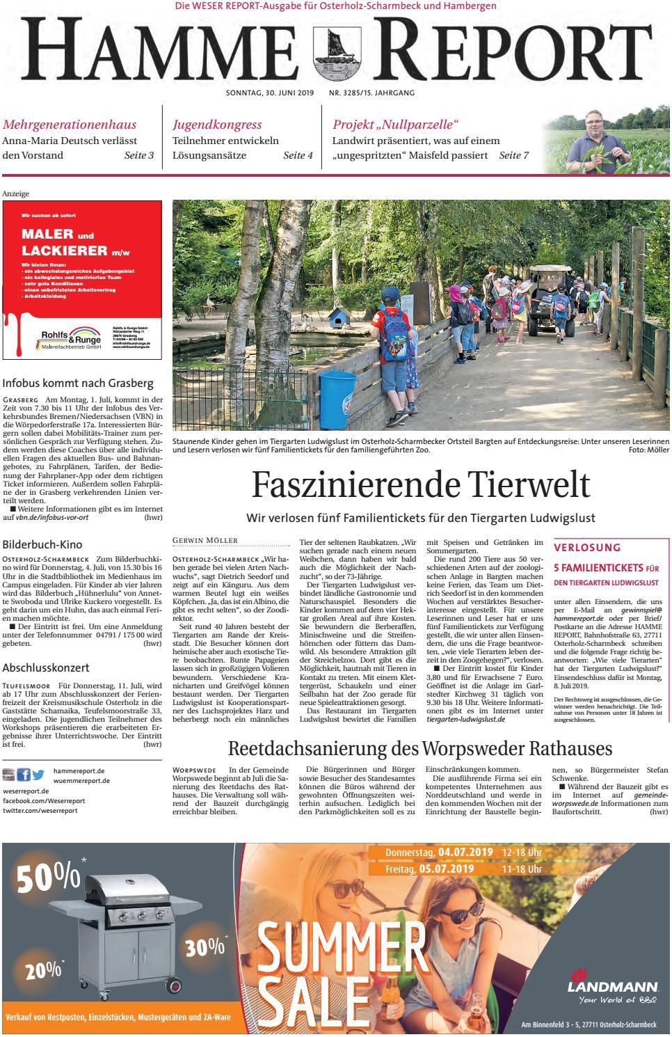 Hamme Report vom 30.06.2019 by KPS Verlagsgesellschaft mbH