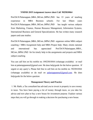 NMIMS 2019 Assignment Answer sheet Call 9025810064 by ramyapalani001