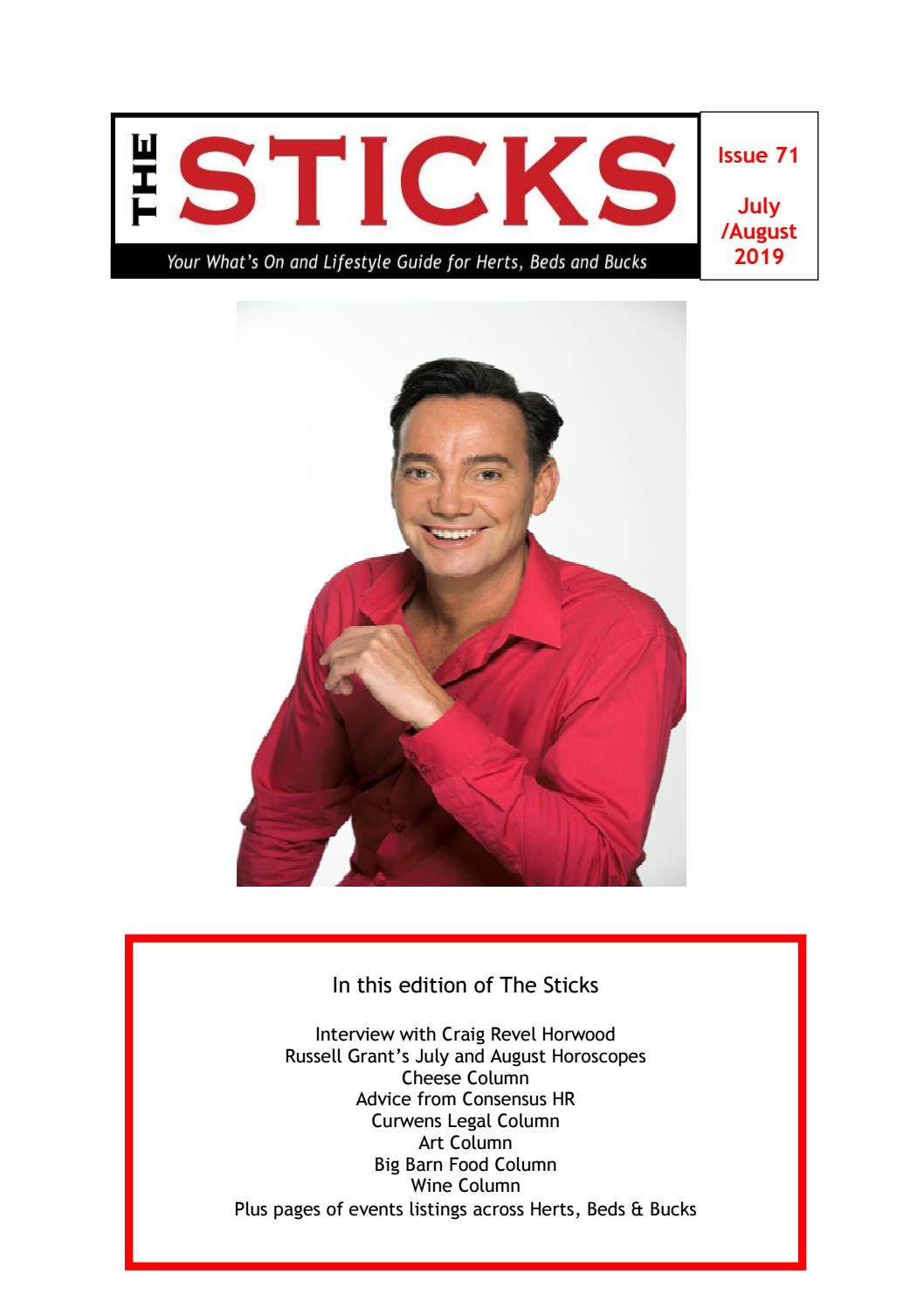 Sticks Magazine July /August 2019 by The Sticks - issuu