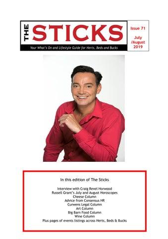 Sticks Magazine July /August 2019 by The Sticks - issuu
