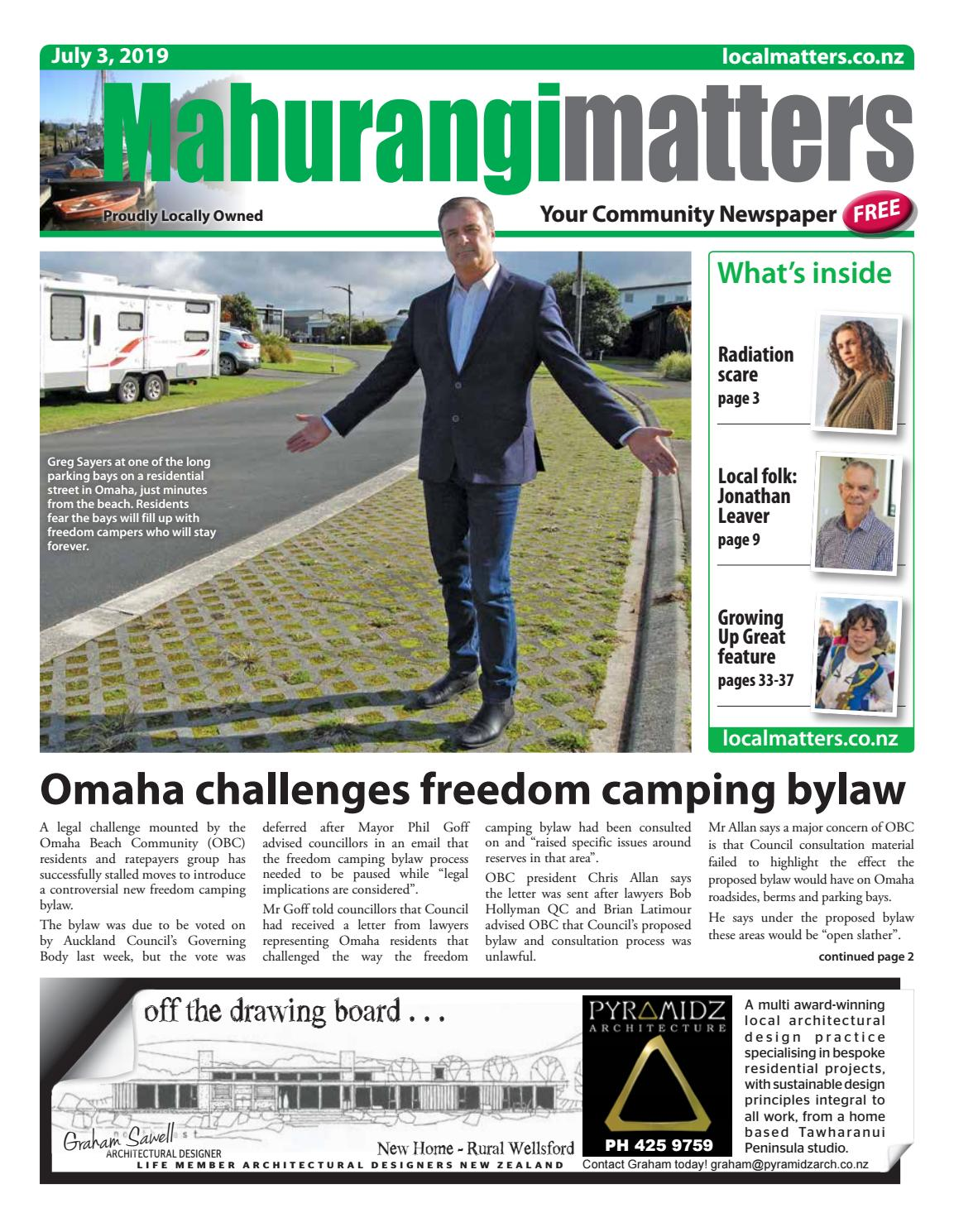 Mahurangi Matters 3 July 2019 by Localmatters - issuu